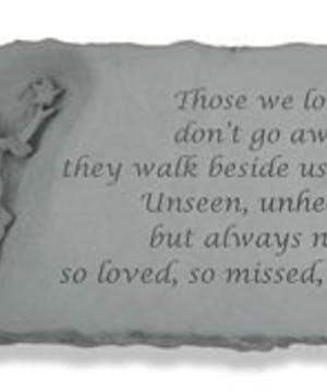 Angel Bench w/ Those we love...