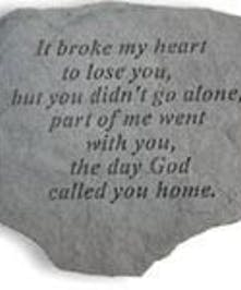 It broke my heart to lose you...