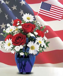 Celebrate the spirit of America with this bouquet