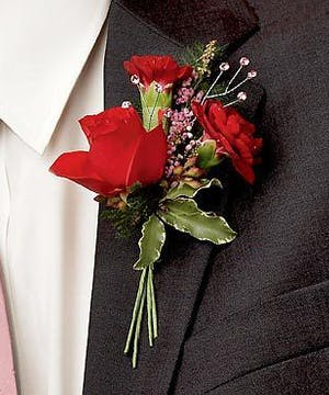 Captivating  Boutonniere