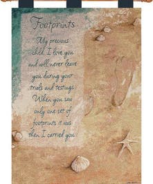 Footprints Wallhanging