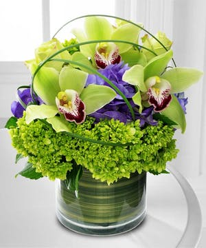 Mom will love this upscale orchid design.