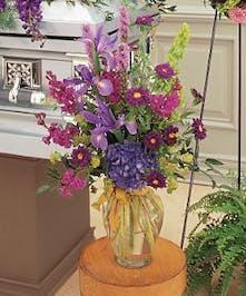 Lush Lavenders Bouquet