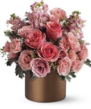 Pink Café Bouquet
