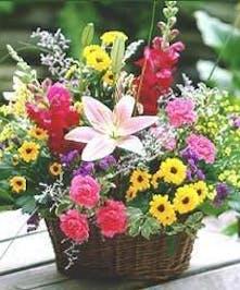 Fresh Picked garden Blooms