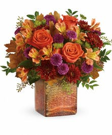 Golden Amber Bouquet - Mancuso's Florist Inc.