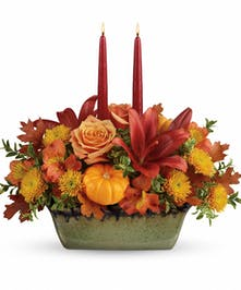 Country Oven Centerpiece - Mancuso's Florist Inc.