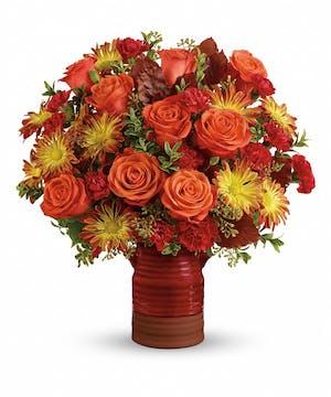 Heirloom Crock Bouquet - Mancuso's Florist Inc.