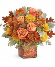 Grateful Golden Bouquet - Mancuso's Florist Inc.