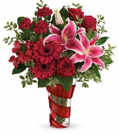 Swirling Desire - Detroit Area Florist - Mancuso's Florist - St. Clair Shores, Michigan (MI), St. Clair Shores Flower Shop