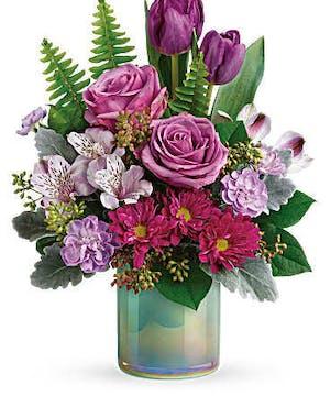 Art Glass Garden - Mancuso's Florist - Detroit, MI Flower Delivery