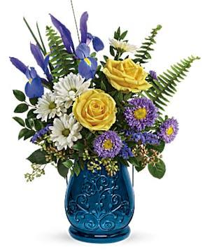 Sapphire Garden - Mancuso's Florist - Detroit, MI Flower Delivery