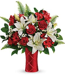 Sweetest Satin- Mancuso's Florist - Detroit, MI Flower Delivery