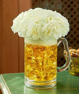 Beer Mug Bouquet