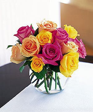 Mixed Summer Colored Roses