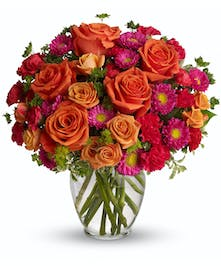 The perfect bouquet that is darling and delightful