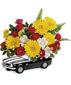 '69 Chevy Camaro Bouquet - Mancuso's Florist - Detroit, MI Flower Delivery