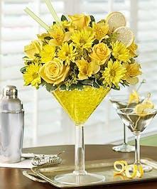 Send a floral cocktail