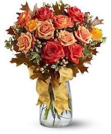Graceful Autumn Roses