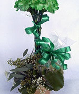 St Patty's Day Topiary Design