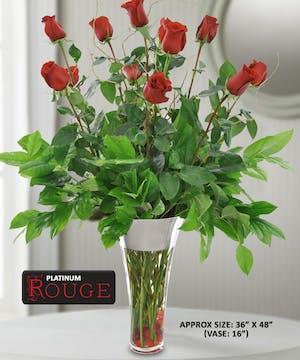 Platinum Rouge Roses