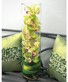 Feng Shui Holiday Design of Cymbidium Orchids