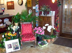 In addition to flowers and plants, Mancusos offers a range of gifts and decorations